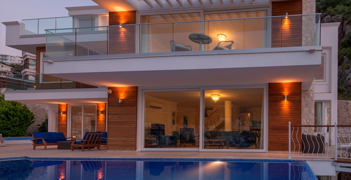 Luxury five bedroom villa in Kalkan, Turkey