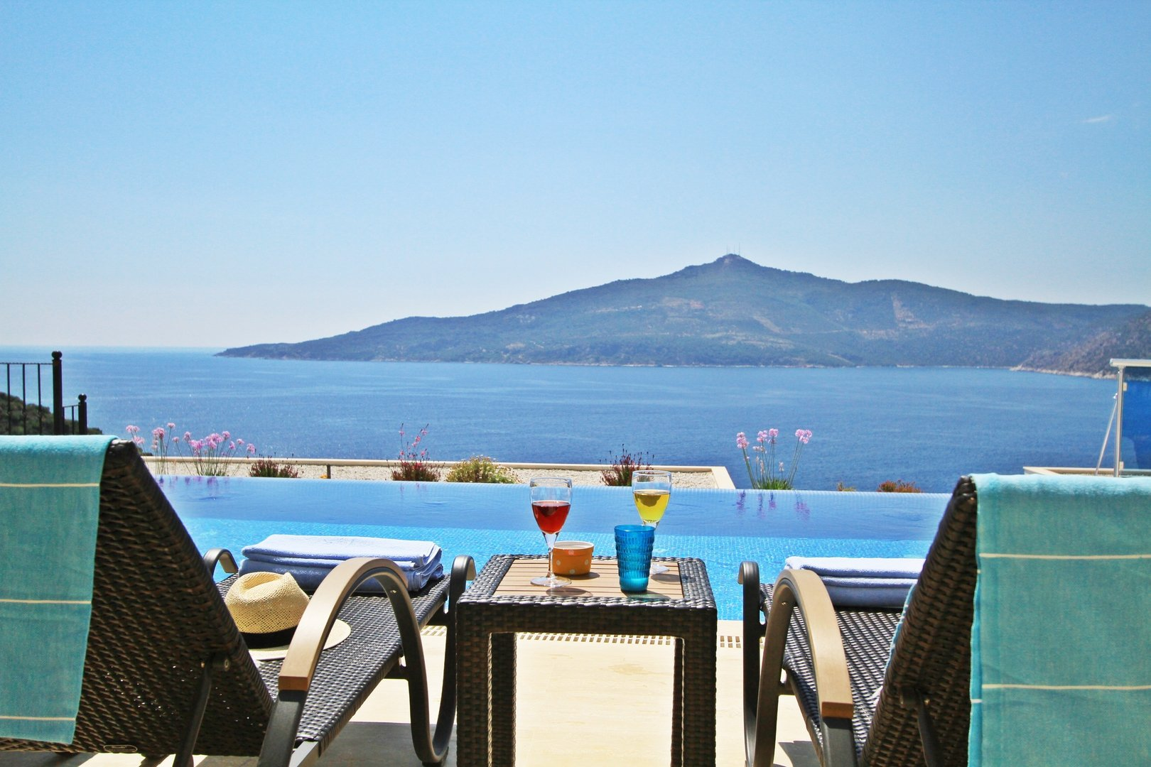 Luxury villa to rent in Kalkan