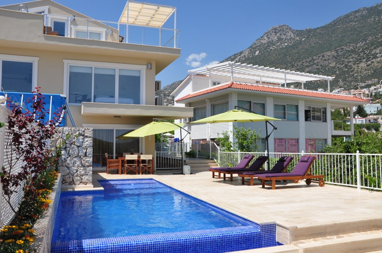Luxury 3 Bedroom Villa In Kalkan Centre
