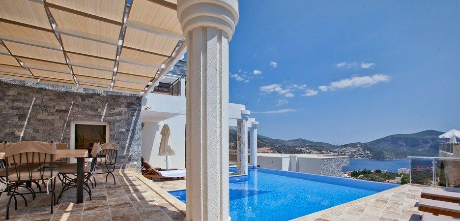 Luxury Four Bedroom Villa to Rent in Kalkan