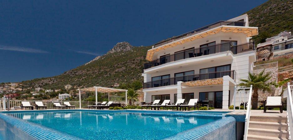 Luxury Seven Bedroom Villa in Kalkan