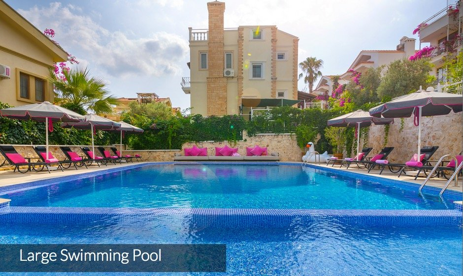 Luxury One Bedroom Apartments to Rent in Kalkan, Turkey