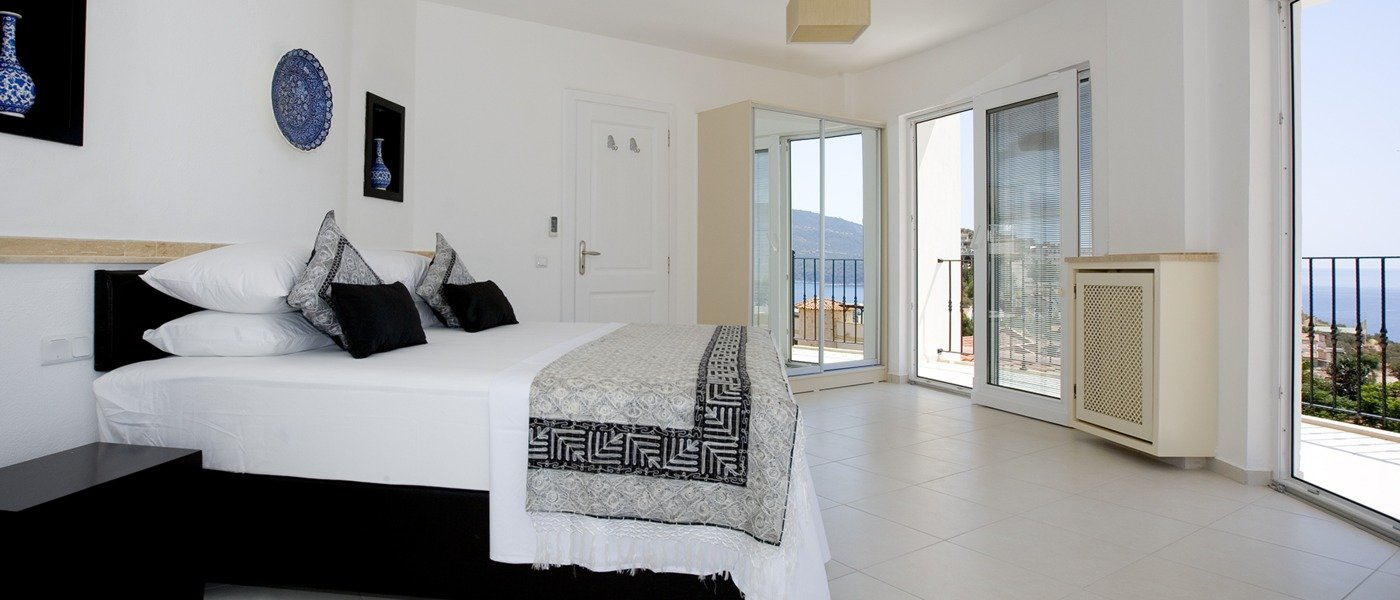 Luxury fur bedroom villas in Kalkan, Turkey